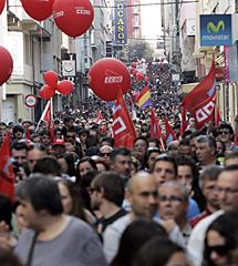 Protesta en Ferrol | Efe