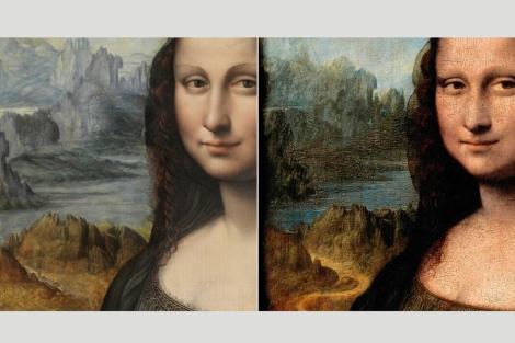 'La Gioconda' y su 'gemela' de El Prado.