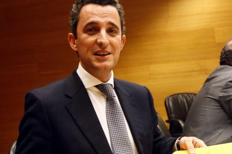 Pedro García, ex director general de RTVV, en una imagen de archivo. | Vicent Bosch