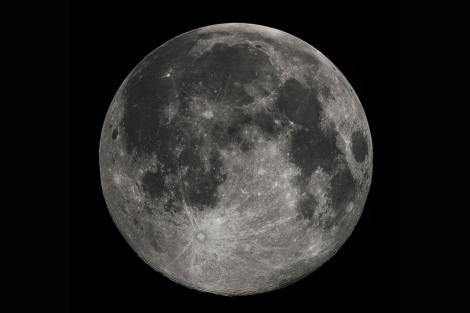La cara de la Luna visible desde la Tierra | Gregory H. Revera