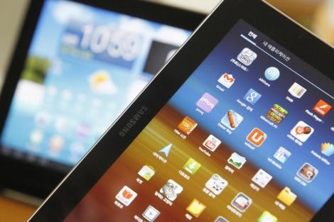Las 'tablets' (agendas), el cimiento base de este pionero inmueble. | Reuters