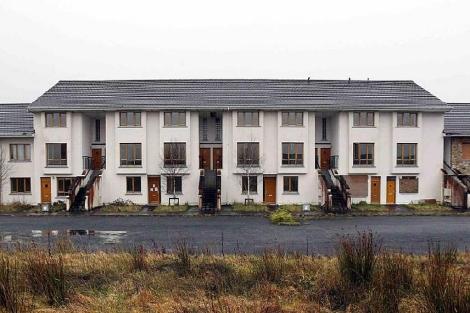 Urbanización en la ciudad Carrick-On-Shannon, condado de Leitrim, al oeste de Irlanda. | Reuters