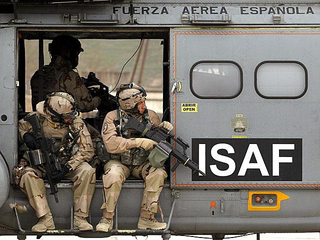 Militares españoles en la misión de Afganistán. | Efe/Kote Rodrigo