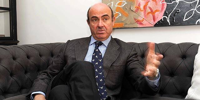 Luis de Guindos, ministro de Economía. | Efe