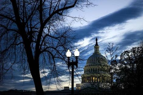 Imagen del capitolio en Washington, D. C. | Afp