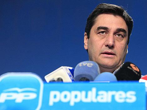 El responsable de Sanidad y Asuntos Sociales del PP, José Ignacio Echániz.   Efe