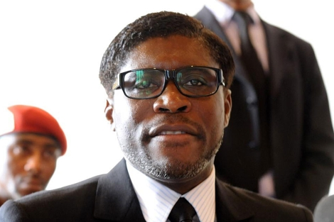 El hijo del presidente de Guinea Ecuatorial Teodorín Obiang. | Afp