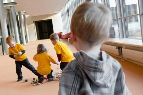 Niños alemanes que participaron en el estudio. |Max Planck Institute.