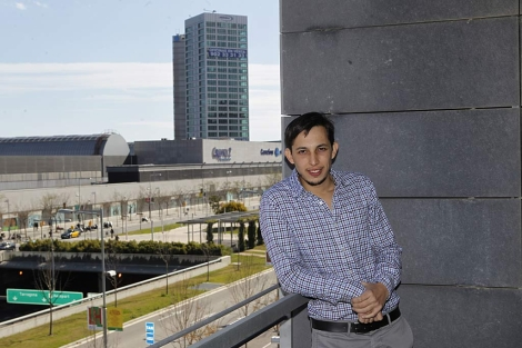 Hernán Botbol, responsable de Taringa, en Barcelona. | Jordi Soteras