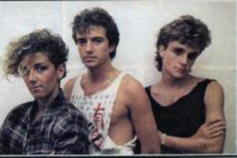 Los tres integrantes del clásico grupo.