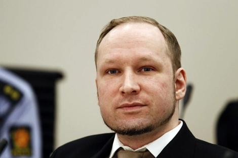 Berivik, en la primera sesión del juicio.   Afp