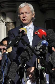 Julian Assange. | Efe