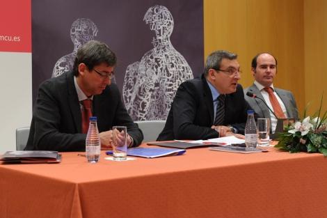 Joan Cobero, Ramón Puchades y Federico Hernández.   OCNE