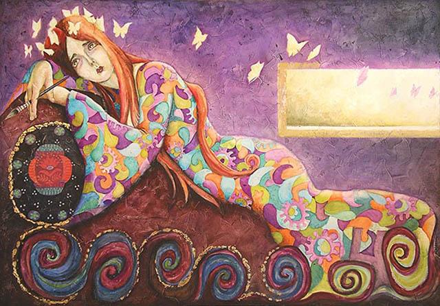 El eneatipo cuatro, cuya pasión en la envidia, visto por la pintora Ana Roldán. | Ana Roldán