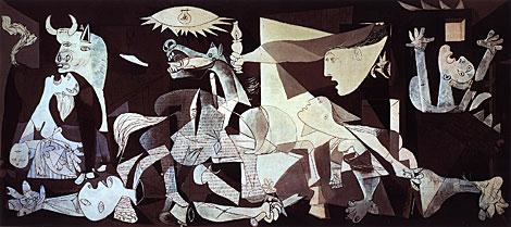 El 'Guernica' de Picasso que se planteó traer al pabellón de España.