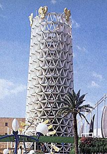La torre de papel reciclado de Suiza.