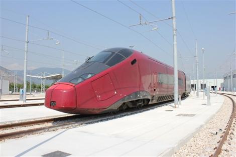 Imagen del tren Italo.