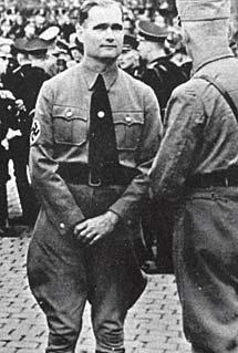 Hess, en 1935.