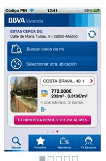 La nueva aplicación en el terminal.
