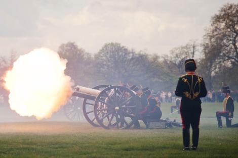 La ceremonia en Hyde Park, Londres.| Afp/Leon Neal
