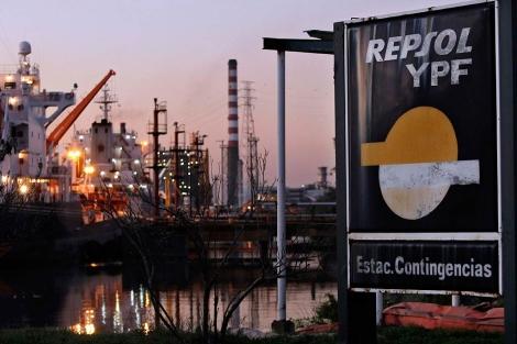Instalaciones de Repsol YPF en Avellaneda. | Efe