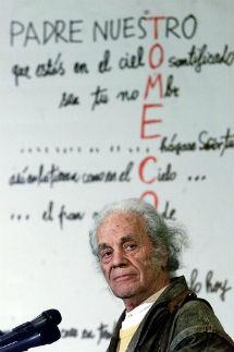 Nicanor Parra, en 2001.   Efe