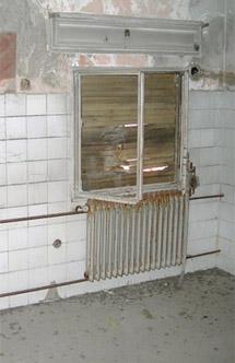 Parte de la maternida de Peñagrande que quedó abandonada.