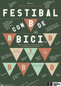 El 'Festibal con b de bici' se realizará el 5 de mayo en Matadero.| Biernes