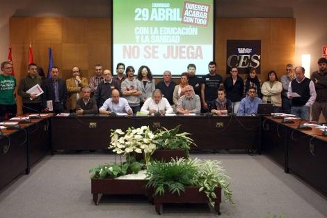 Los colectivos que han pedido a los ciudadanos que se manifiesten. | Ical