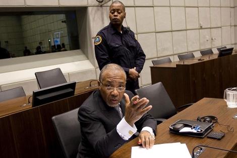 Charles Taylor, ex presidente de Liberia. | AFP