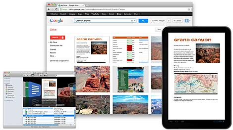 Imagen de Google Drive.