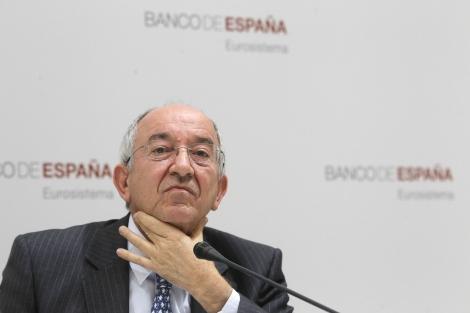 El gobernador del Banco de España, Miguel Ángel Fernández Ordóñez.   Sergio González