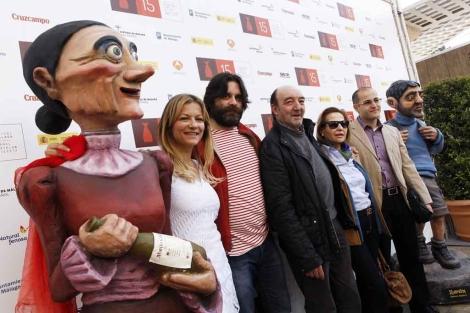 Equipo de la película de animación 'O Apostolo'. | J. Domínguez