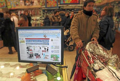 Bayon, un ejemplo de empresa centrada en el comercio electrónico.   El Mundo