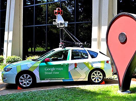 Uno de los coches de Google StreetView. | Foto: Google