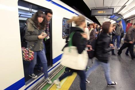 Imagen del metro de Madrid. | Foto: Efe