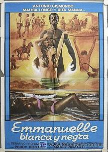 'Emmanuelle blanca y negra'. | E.M.