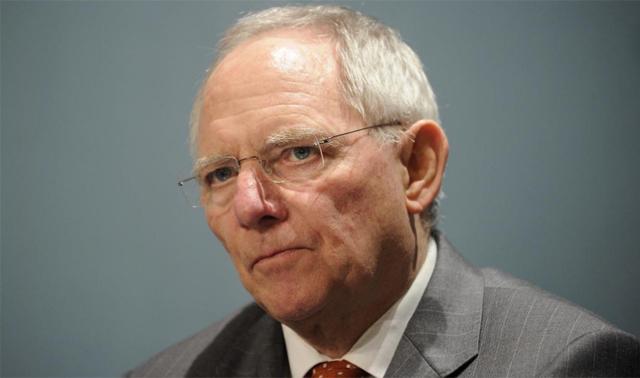 El ministro de Finanzas alemán, Wolfgang Schäuble. | Efe