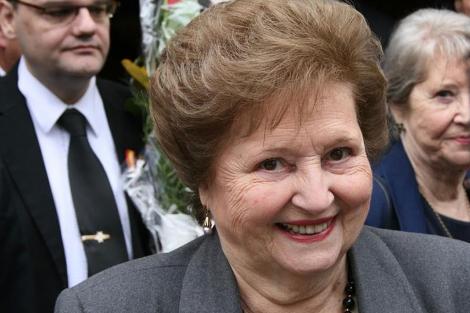 La viuda de Augusto Pinochet, Lucía Hiriart. | Alfonso Daniels