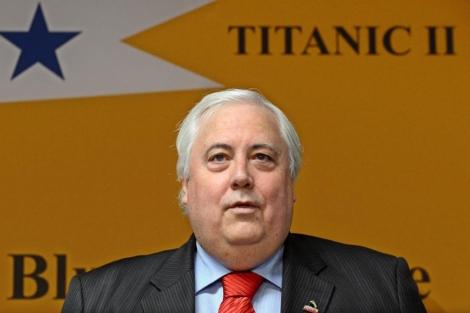El magnate australiano Clive Palmer anuncia que construirá una réplica del Titanic. | Efe
