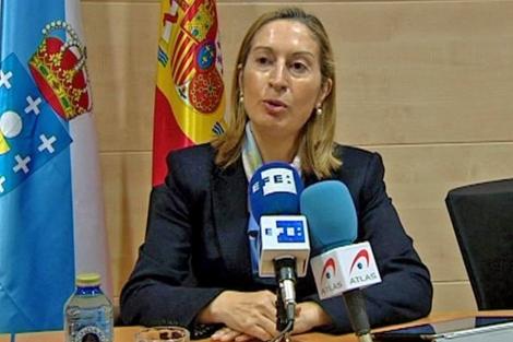 Ana Pastor, ministra de Fomento y responsable estatal de Vivienda. | Efe