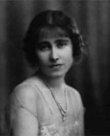 La madre de Isabel II (1923).