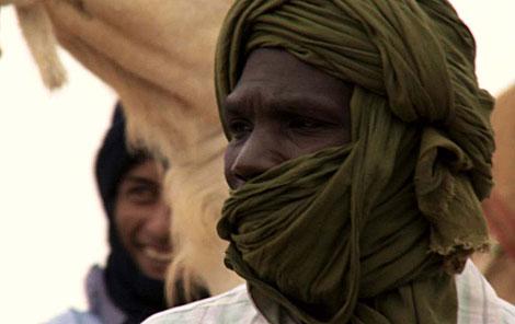 Ancianos saharauis, en 'Hijos de las nubes'.
