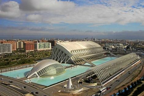 Vista aérea de la Ciudad de las Ciencias. | Mar Junco