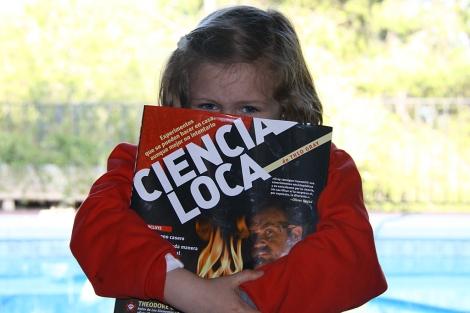 Alicia Frías, de seis años, será una de las ponentes de StAs 2012