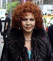 Sara, ayer en Nueva York.   Efe