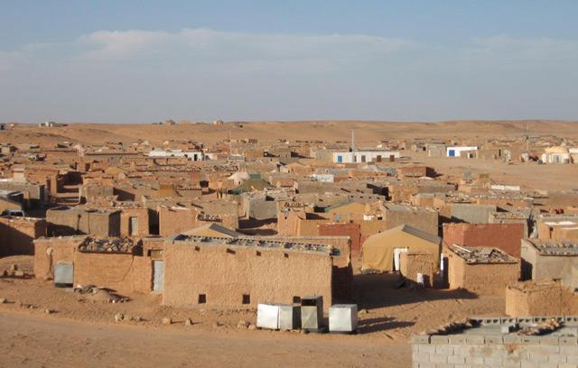 Panorámica del campo de refugiados de Dajla.   R.Q.