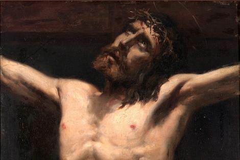 'Estudio de Cristo', obra inédita de Sorolla datada en 1883. | Universidad de Lleida