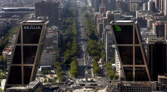 Sede de Caja Madrid, una de las entidades que forman Bankia. | Diego Sinova