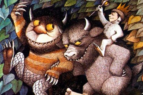 Ilustración de Maurice Sendak del libro 'Donde viven los monstruos'. | E. M.